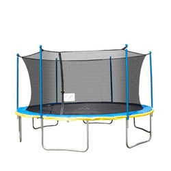 TruJump 15ft Trampoline with Safety Enclosure