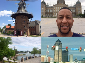 Visit to Iowa