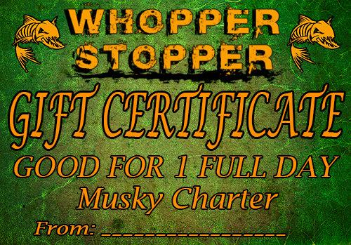 Full Day Charter Gift Certificate