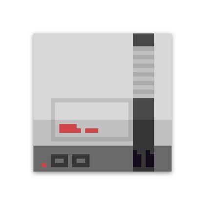 Pixel First Console Sticker