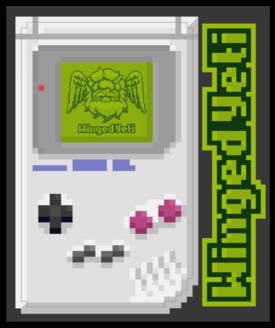 Pixel First Handheld Sticker