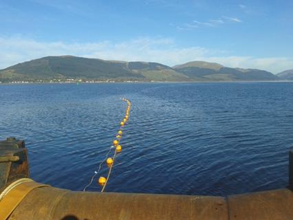Undersea Cable Installation