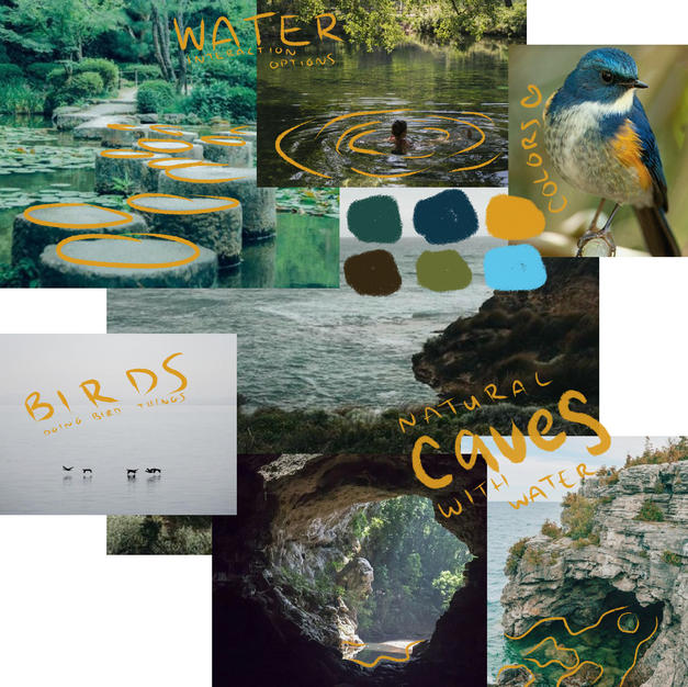 Earth inspiration collage