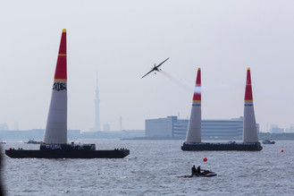 RedBull AIR RACEの水上安全管理に、 TPSP安全講習会講師のWRMAが参加
