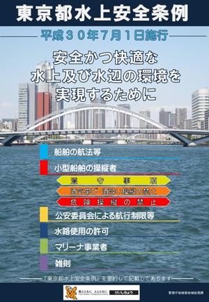 「東京都水上安全条例」の制定