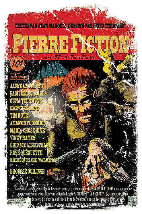 Lithographie Pierre Fiction