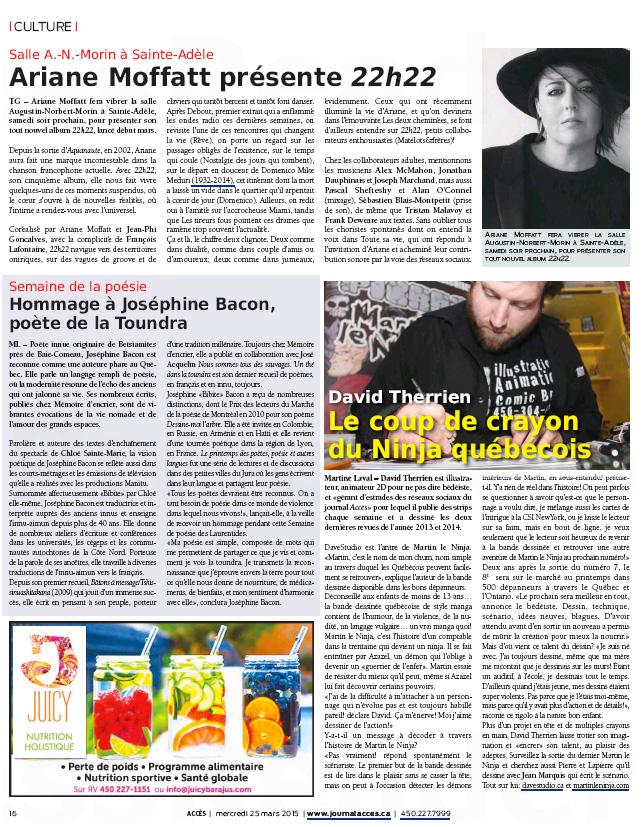 Journal Accès