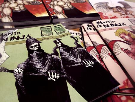 Les bandes dessinées Martin le NINJA™ dans les dépanneurs!