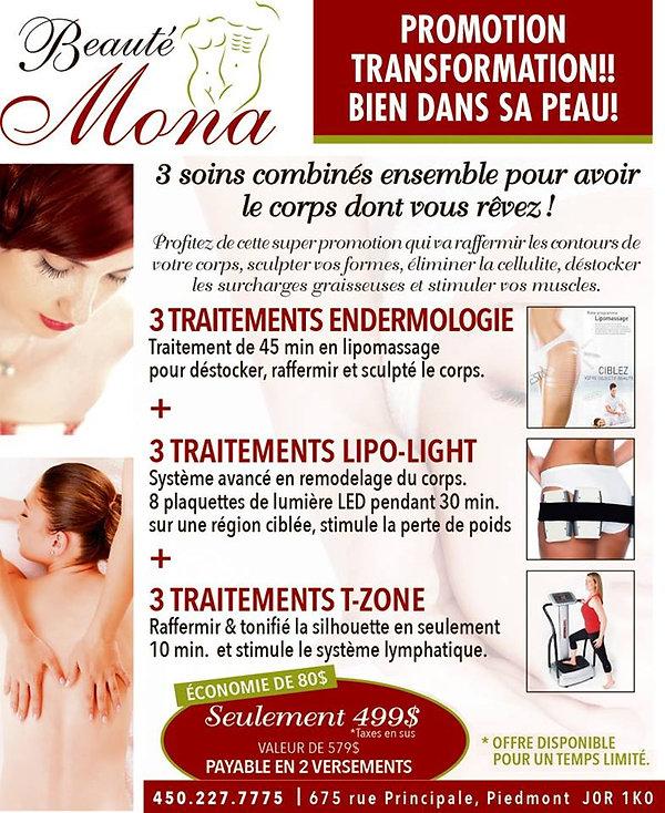 Beauté Mona - Promotion en cours