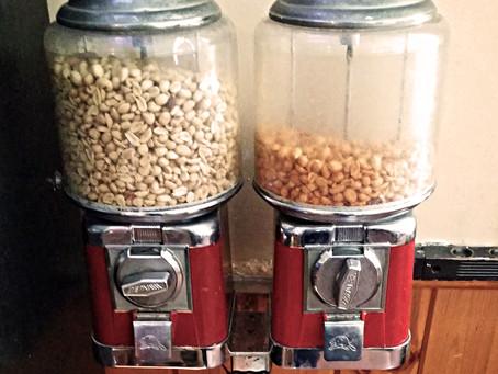 La machine à peanuts.