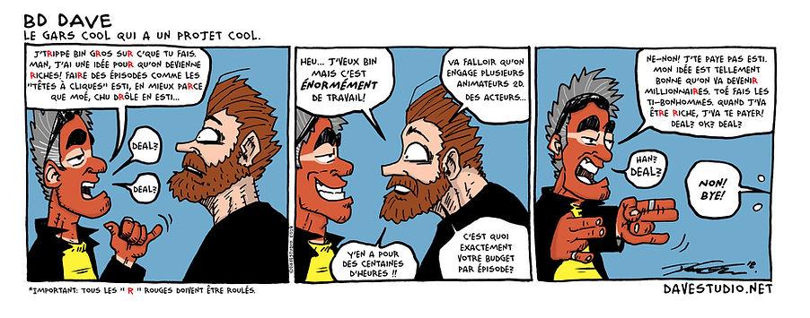 bande dessinée humoristique