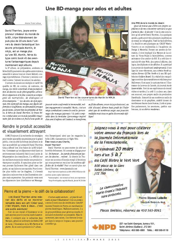 Journal Le Sentier