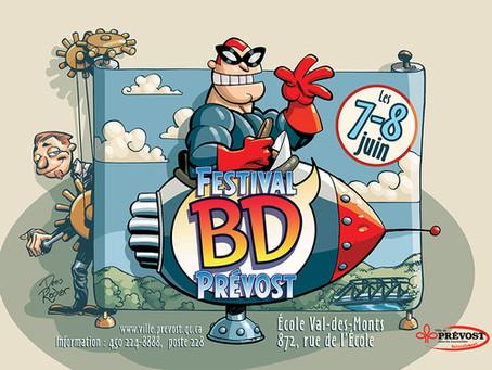 Festival BD Prévost