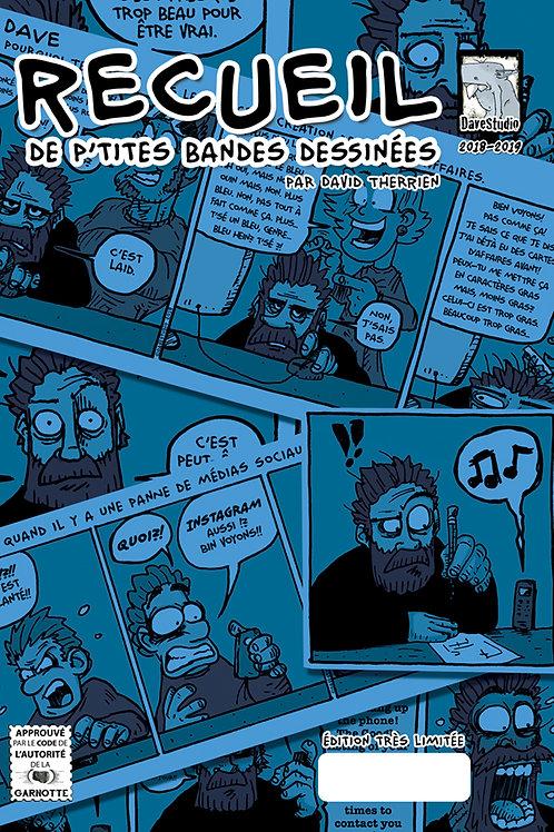 Recueil de p'tites bandes dessinées