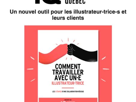 Illustration Québec vient de publier un outil pour les illustrateur-trice-s et leurs clients.