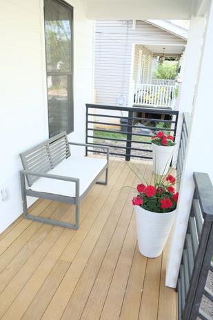 Unit A Front Porch