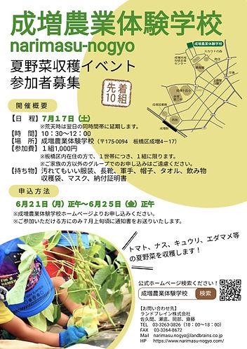 夏野菜収穫イベントチラシ.jpg