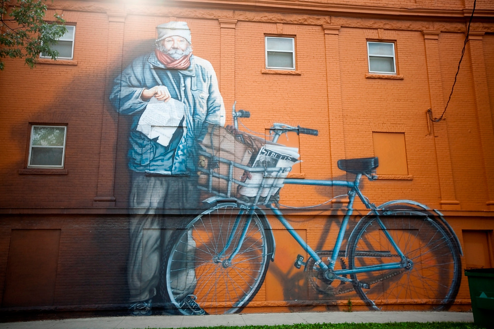 Mural Wandgemälde Winnipeg Thompson Churchill