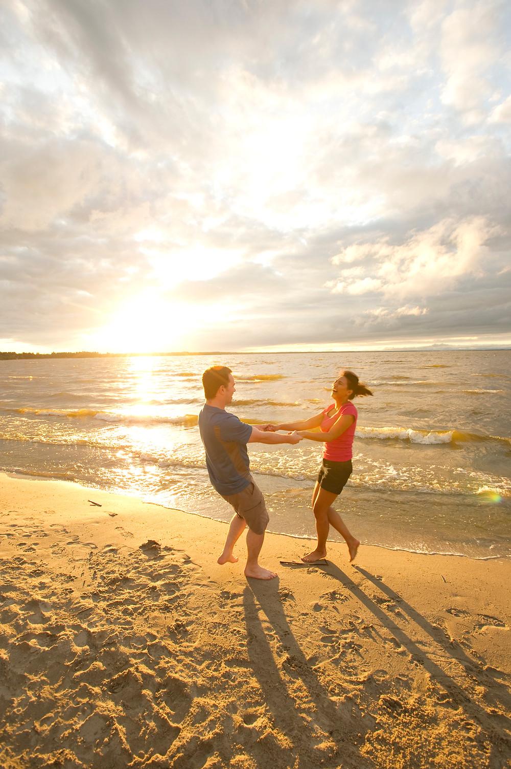 beach water lake Saskatchewan fun Spaß Strand Wasser See Badeurlaub Strandurlaub Sommer Sonne summer sun sunrise sunset Sonnenaufgang Sonnenuntergang love Liebe happy happiness Glück Entspannung Sandstrand