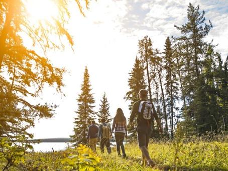 Rein in die Wanderschuhe und rauf auf die Trails: Wandern im Prince Albert National Park