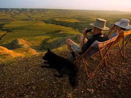 Endlich offline in Saskatchewan