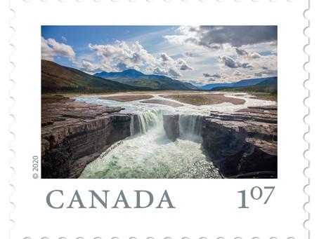 Pressemeldung: Neuer kanadischer Briefmarken-Satz mit NWT-Bild des Schweizer Fotografen Gerold Sigl