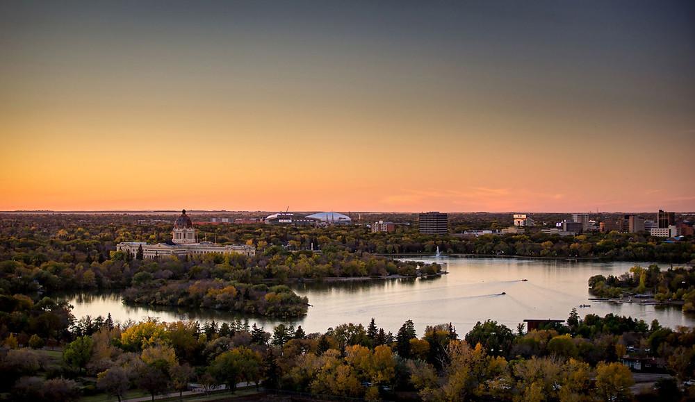 Regina,  Saskatchewans königliche Hauptstadt