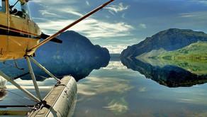 Ausblick mit Herzklopfen: Flightseeing in den Northwest Territories