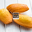 Madeleines aux gingembres confits