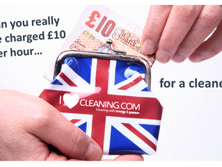 Can cleaning companies really charge under £10 per hour?