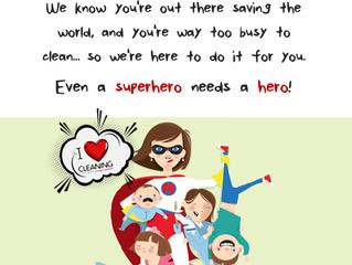 Even Superheroes Need a Hero!