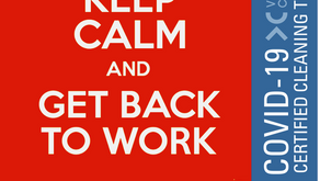 ARE YOU WELCOMING BACK YOUR STAFF AND CUSTOMERS, SAFELY?