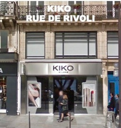 KIKO - RUE DE RIVOLI