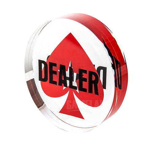 PS Dealer Button (without rubber rim)