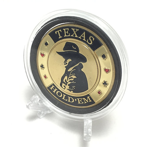 """Texas Hold'Em"" Poker Card Guard"