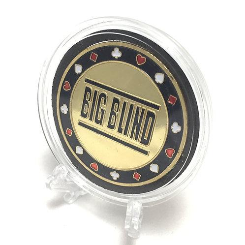 Big Blind Poker Card Guard / Button