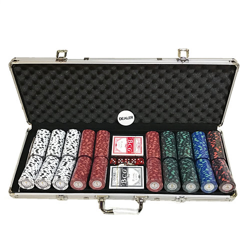 Discounted Monte Carlo Poker Room 500s Poker Chip Set