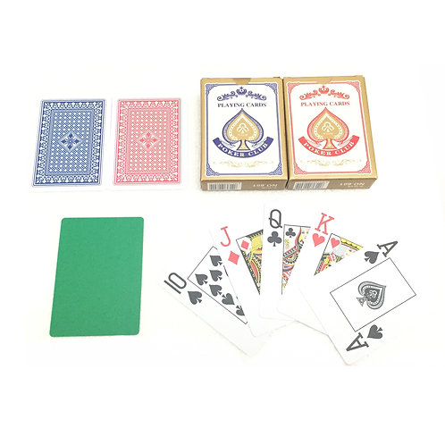 G Club Plastic Playing Card (Double Surface Grind)