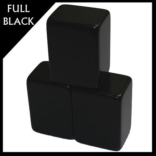 A1 Size Full Black Acrylic Mahjong Set