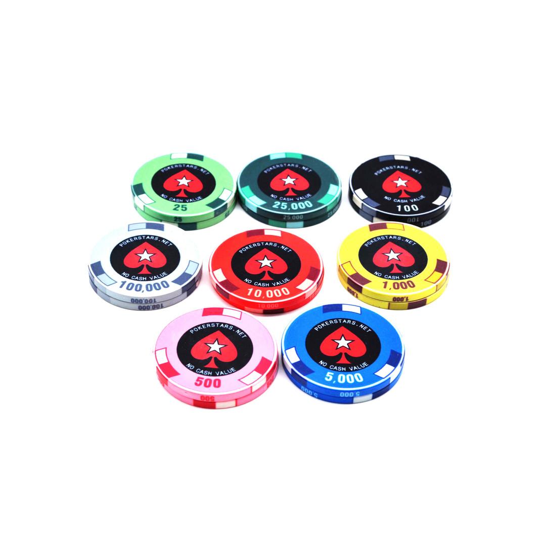 custom EPT ceramic poker chip