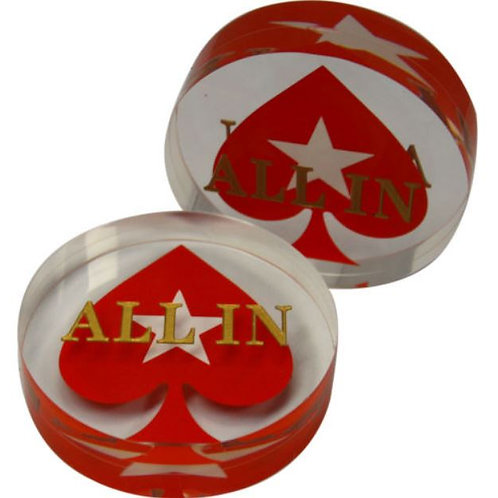Round PS All-In Button