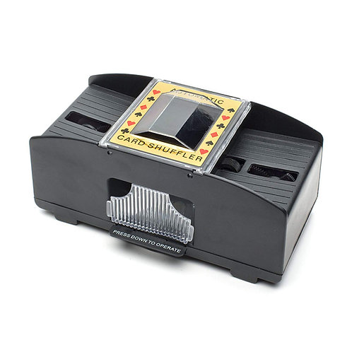 Automatic 2 Deck Card Shuffler