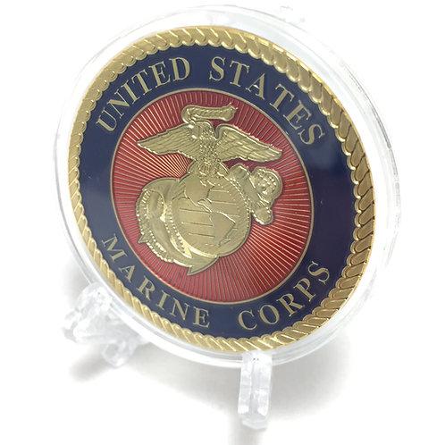 US Marine Corps Poker Card Guard
