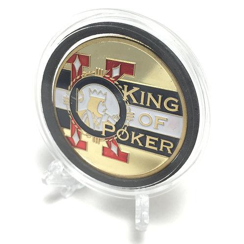 """King of Poker"" Poker Card Guard"