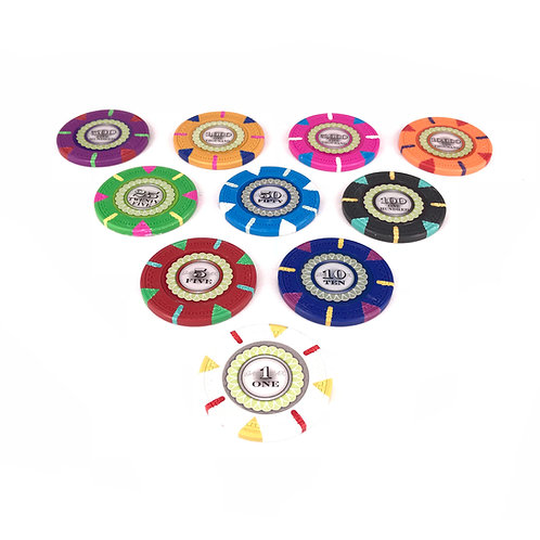 Monaco Club Poker Chips (Premium)