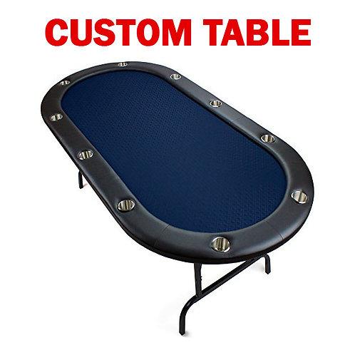 Customized Full Poker Table