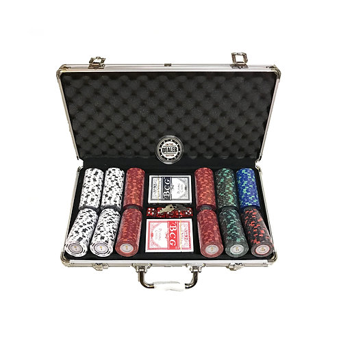 Monte Carlo Poker Room 300s Poker Chip Set