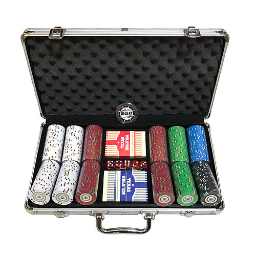 Desert Stripes 300s Poker Chip Set (Premium)