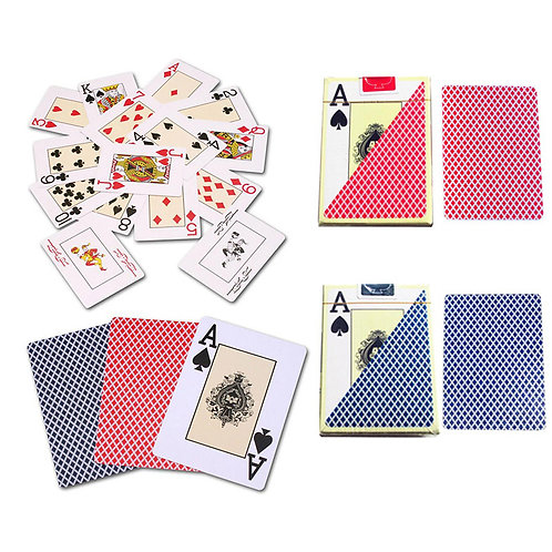 Texas Hold'em Plastic Playing Cards