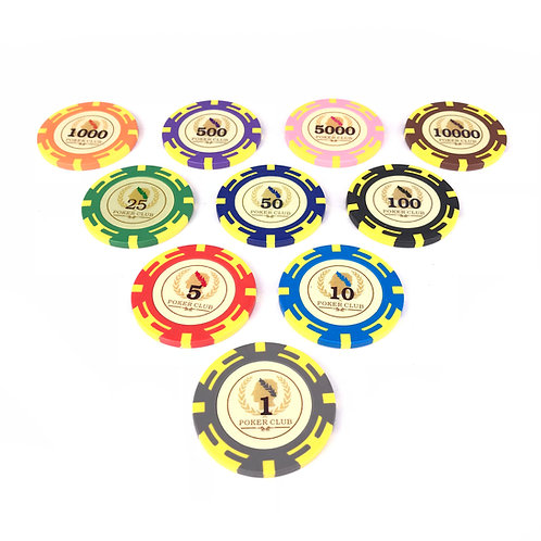 Romanian Poker Chips